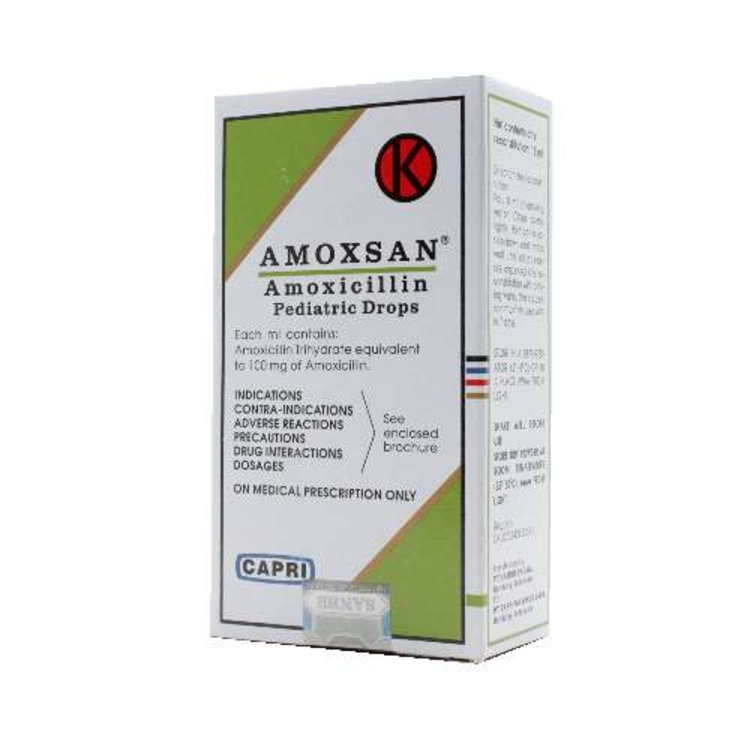 Amoxsan paed drops 27 ml 1