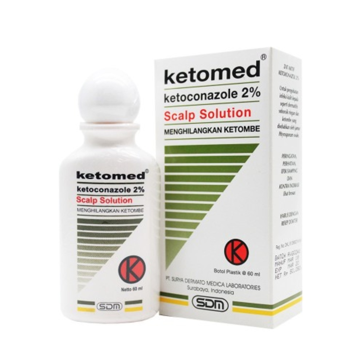 Ketomed ss 2 shampo 60ml 1