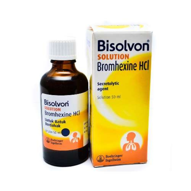 Bisolvon sol 50ml 2mg ml 1