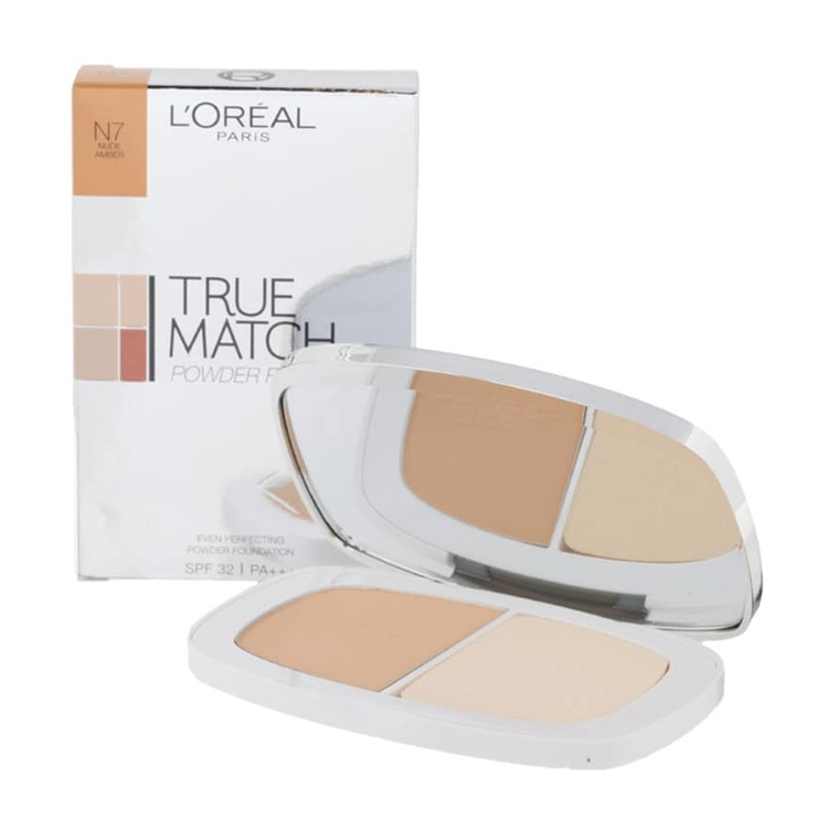 L'OREAL True Match Perfecting Powder N7 Nude Amber