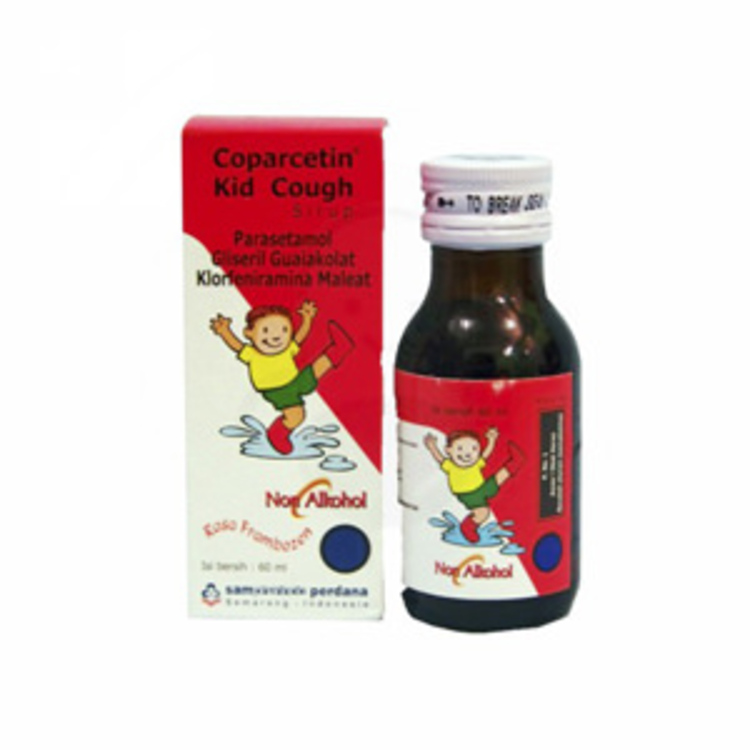 Coparcetin kid cough syr 60ml 1