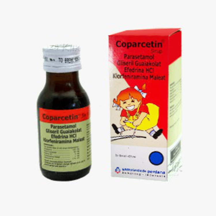 Coparcetin syr 60ml 1