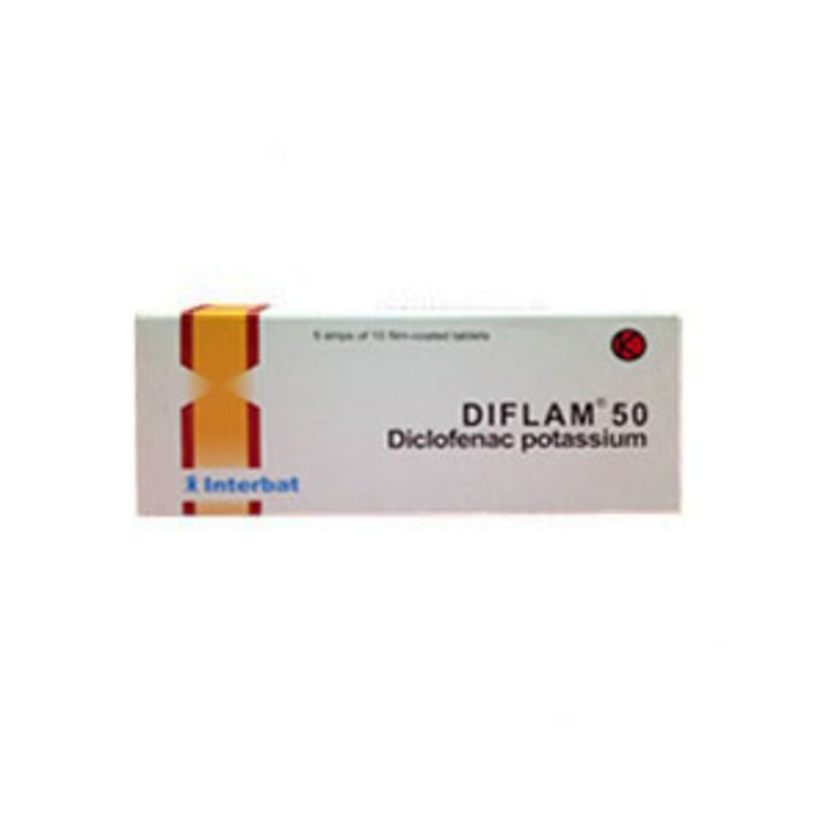 Diflam 50mg tab 50s 1