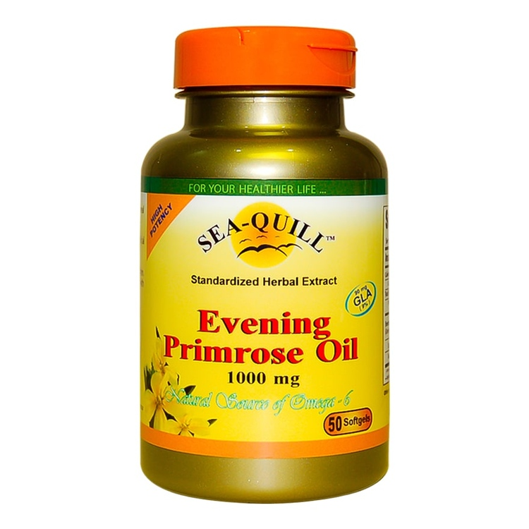 Sea quill evening primrose oil 1000mg tab 50s 1