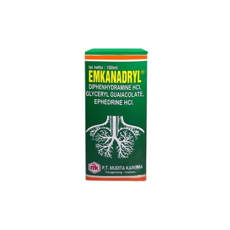 Emkanadryl exp syr 100ml 1