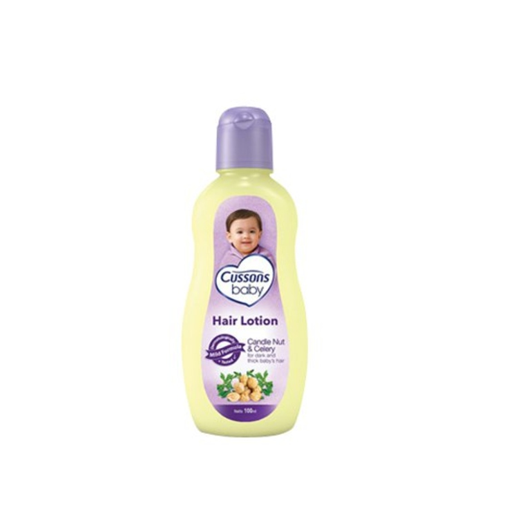 CUSSONS BABY HAIR LOTION CANDLENUT & CELERY 100 ML