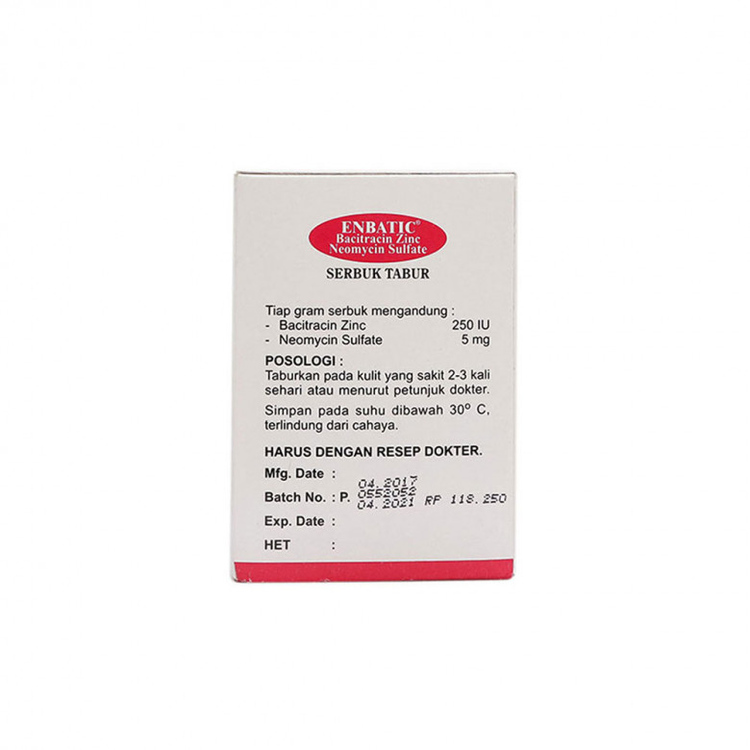 Enbatic powder 3 gram 4