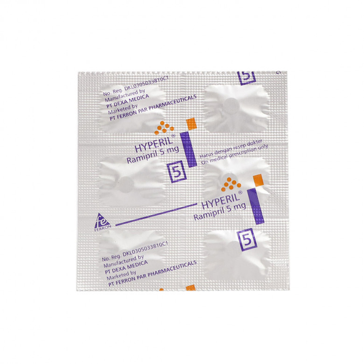 Hyperil 5 mg tablet 1