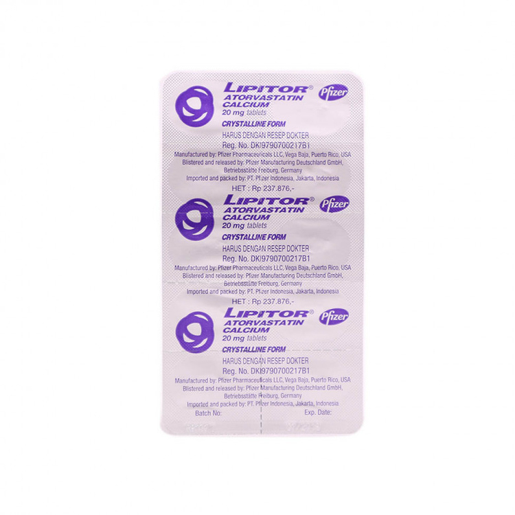 Lipitor 20 mg tablet 2
