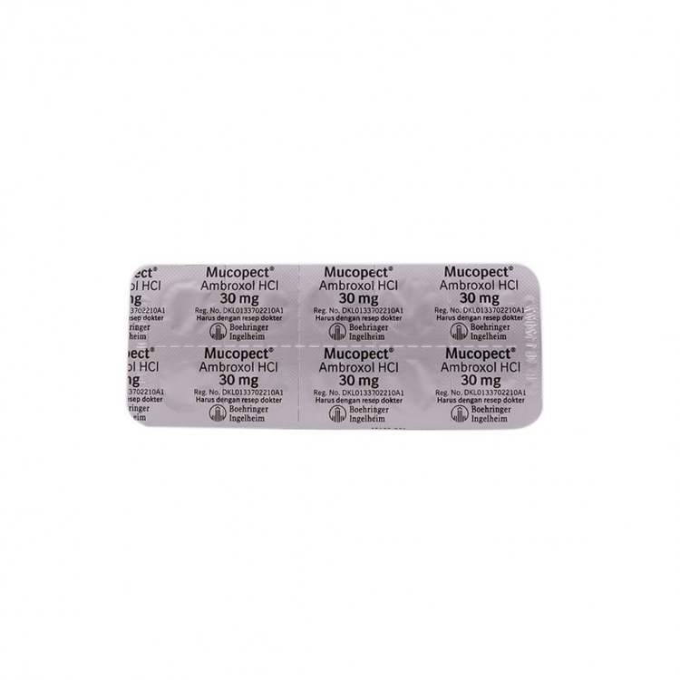 Mucopect 30 mg tablet 2