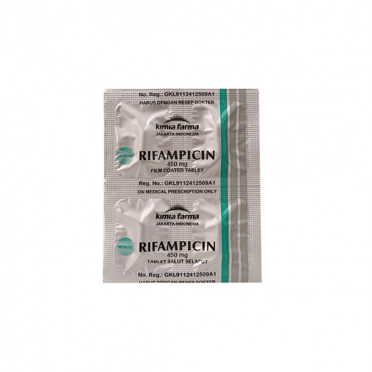 Rifampicin kimia farma 450 mg tablet 1