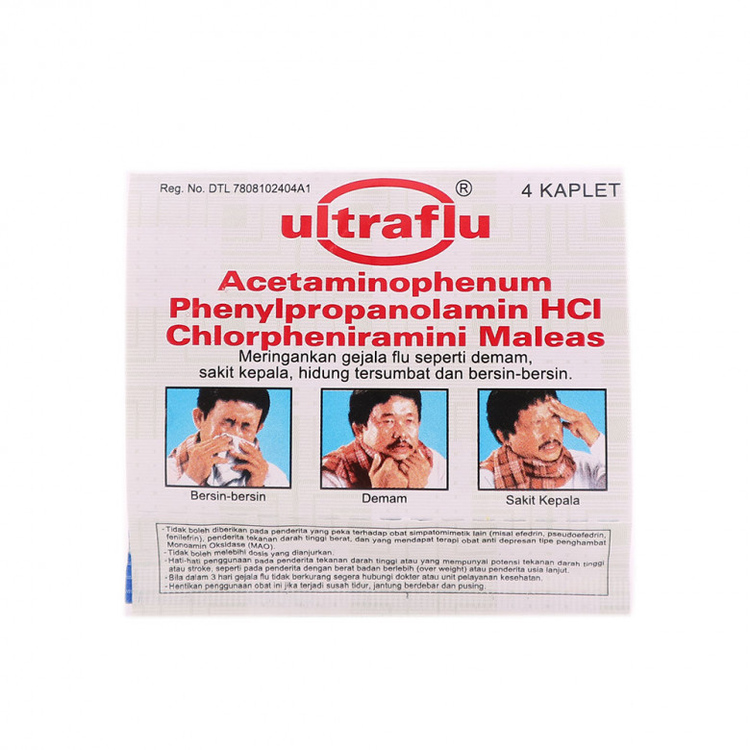 Ultraflu 4 tablet 2