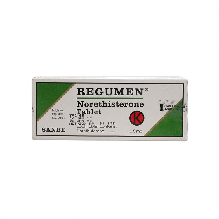 Regumen 5 mg tablet 1