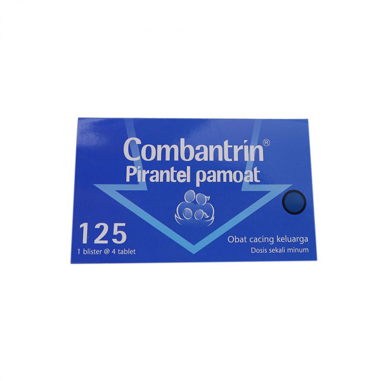 Combantrin 125 mg tablet 1