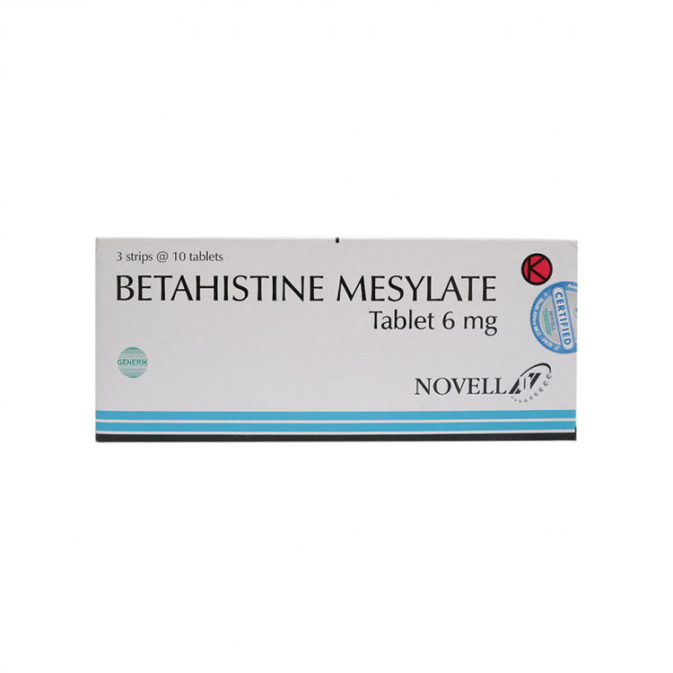 Betahistine novell 6 mg tablet 1