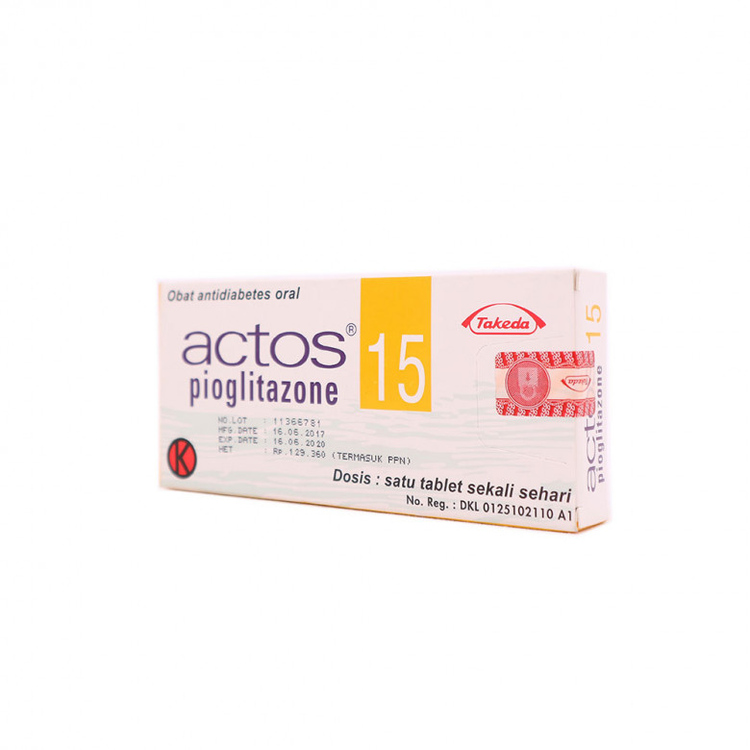 Actos 15 mg tablet 1