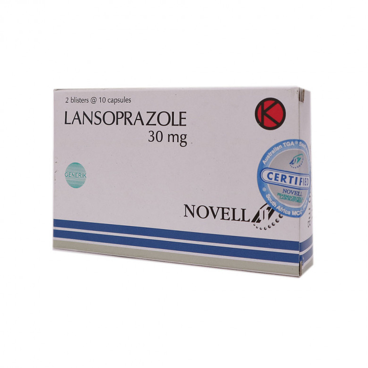 Lansoprazole novell 30 mg tablet 1