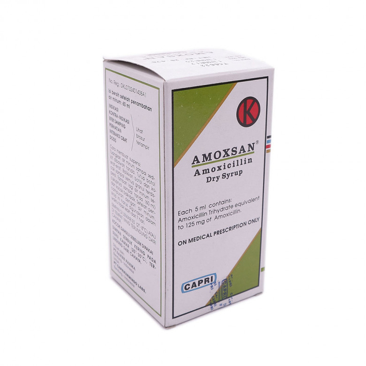 Amoxsan 125 mg 5 ml sirup 60 ml 1
