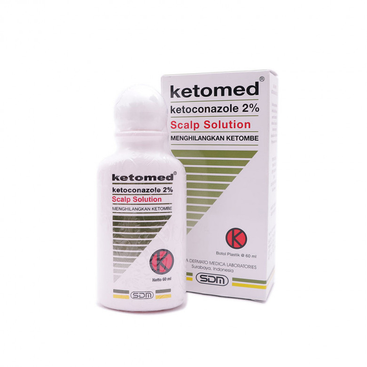 Ketomed 2 scalp solution 60 ml 1